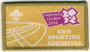 SCOUT OLYMPIC BADGE