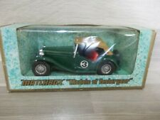 MB Models of Yesteryear Y-8 - MG-TC 1945 green made in England 1977