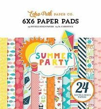 "ECHO PARK ""SUMMER PARTY"" 6X6 PAPER PAD POOL PARTY SUMMER SCRAPJACK'S PLACE"