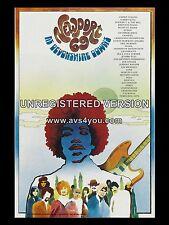 """Jimi Hendrix Newport 1969 16"""" x 12"""" Photo Repro Concert Poster"""