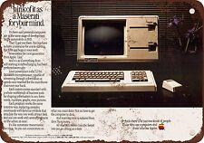 "7"" x 10"" Metal Sign - 1983 Apple Lisa Computer - Vintage Look Reproduction"