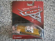 Mattel Disney Cars 3 TEX DINOCO -  NEW