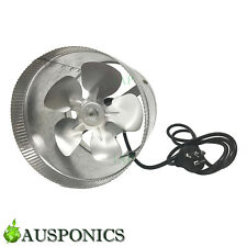 "HYDROPONICS 6""/150MM 25W GROWLUSH EXHAUST INLINE DUCT FAN With Metal Blade"