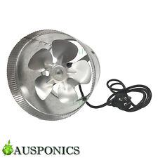 6 INCH/150MM 25W VENTILATING EXHAUST FAN Inline Vent Fan For Grow Rooms