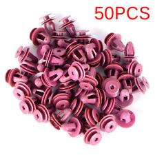 50pcs For Toyota Door Trim & Garnish Panel Retainer Clip Natural Nylon Fastener.