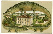 Alligator Border Florida 538 Palarka City Hall