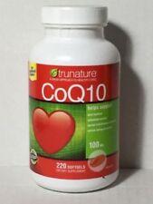 trunature CoQ10 100mg Coenzyme Q-10 220 Softgels