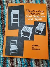 Stool Seating Method book, seagrass needle n seagrass hank