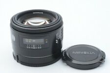 Excellent MINOLTA AF 50mm F/1.4 From Japan 115100