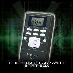 Ghost Spirit Box Clean Sweep Radio Paranormal Ghost Hunting Equipment