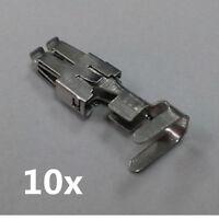 10x Weiblich Sicherung Terminal 4.8mm für VW N 907 326 03 / N90732703 N90696603