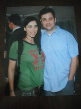 Sarah Silverman Jimmy Kimmel Color 8x10 Promo Photo Picture