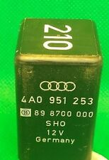 Audi A4 A6 SHO 6 Pin Black 210 Double Relay 4A0951253 SHO 898700000 GERMANY