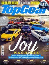 Top Gear Magazine #285 August 2016 JOY MACHINES AM-RB 001 Lamborghini Centenario