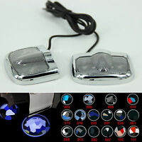 2X LED Car Door Step Courtesy Laser Projector Logo Ghost Shadow Light for BMW