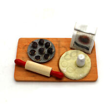 Miniature Baking Countertop for Dollhouse Kitchen 1:12 Sacle Muffin Cup Cakes
