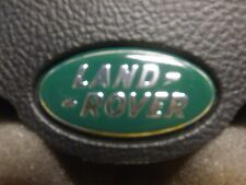 Land Rover late model factory original driver/steering airbag emblem LandRover