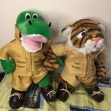 Australia Zoo 'home Of The Crocodile Hunter' Plush Toy Bundle Crocodile Tiger