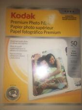 "EUC Kodak Premium Photo Paper Instant Dry Gloss 8.5"" x 11"" 34+ Sheets 9 mil"