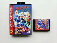 Mega Man Wily Wars - Sega Genesis Game / Case ENGLISH - Saves - Wiley War (USA)