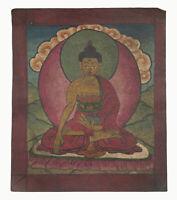 Tsakli Budda Antica Peinture Iniziatico Tantra Mongolia Tibet 26935