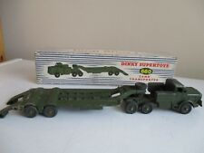 dinky tank transporter boxed