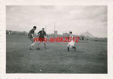 2 x Foto, Werkschutz, Beim Fussball, Mons, 1940, Belgien, (W)1809