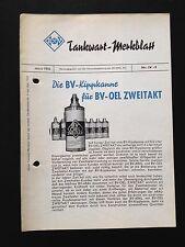 ARAL Tankwart Merkblatt: Die BV-Kippkanne für BV-Öl Zweitakt