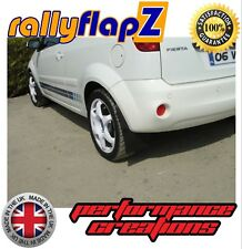 Stile Rally ANTERIORE FORD FIESTA ST ST180 parafanghi in PVC Nero 4mm KIT COMPLETO