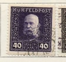 Austria 1915 Early Issue Fine Used 40h. 192997