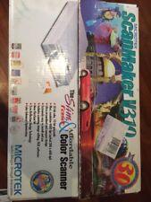 Microtek ScanMaker V310 Flatbed Scanner WINDOWS! Complete w Software NIB!