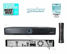 Humax DTR-T1000 500GB YouView PVR Recorder Twin Tuner Freeview HD Receiver Smart