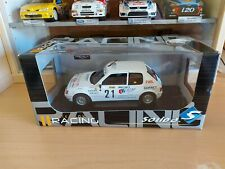 PEUGEOT 205 GTI RALLY MONTE-CARLO 1988 BALLET LALLEMENT - SOLIDO 1/18