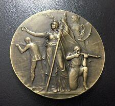 France / Art Nouveau shooting competition medal by Felix Rasumny / M72