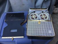 Vintage Steelman Transitape Transistor Tape Recorder
