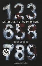 SE LO QUE ESTAS PENSANDO, POR: JOHN VERDON