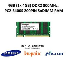 Unimega ® 4 go ddr2 800 MHz pc2-6400s 200pin 1,8 V modules RAM mémoire memory