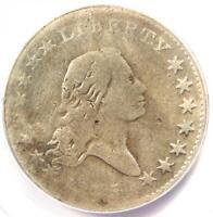 1795 Flowing Hair Bust Half Dollar 50C - Certified ANACS VG8 Detail - Rare Coin!