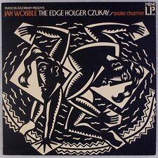 JAH WOBBLE: Snake Charmer w/ Edge, Holger Czukay UK Leftfield Funk LP NM