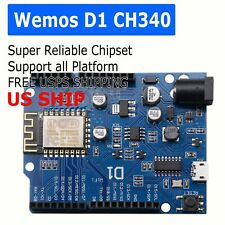OTA WeMos D1 CH340 WiFi Arduino UNO R3 Development Board ESP8266 ESP-12E
