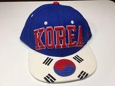 Zephyr South Korea Embroidered Country Flag Snapback Adjustable Baseball Hat Cap