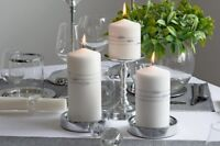 Hand-decorated Pillar Candles ! Candle Centerpieces ! Wedding Candle Gift