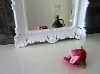 Wandspiegel WEIß Barock Shabby,Jugendstil 57x47 Antik Badspiegel Flurspiegel