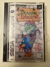 Blazing Dragons - Sega Saturn - Brand New-CIB NIB