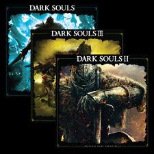Dark Souls Trilogy OST Vinyl 6xLP Soundtrack 1 2 & 3 Exclusive Clear LP