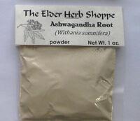 Ashwagandha Root Powder 1 oz. - The Elder Herb Shoppe