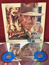 Indiana Jones The Temple of Doom on 2 Extended Play LaserDisc