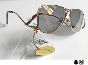 Luigi Colani Design mod 1001 occhiali da sole vintage 1980s con lenti a specchio