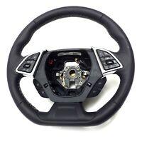 23379914 OEM Steering Wheel Black with Gray Stiches 2016 Chevrolet Camaro LS