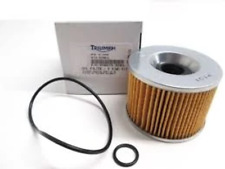 Triumph Carb Models Oil Filter and O Ring Kit - 3990070-T0301